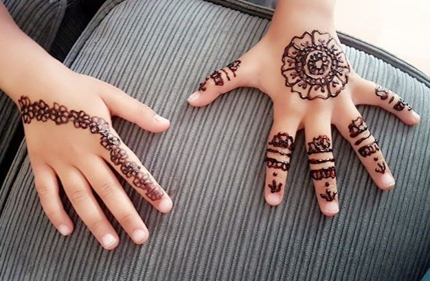 mehndi design for baby girls
