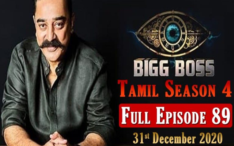 Bigg Boss Tamil 4, 31 December 2020 Full Episode 89