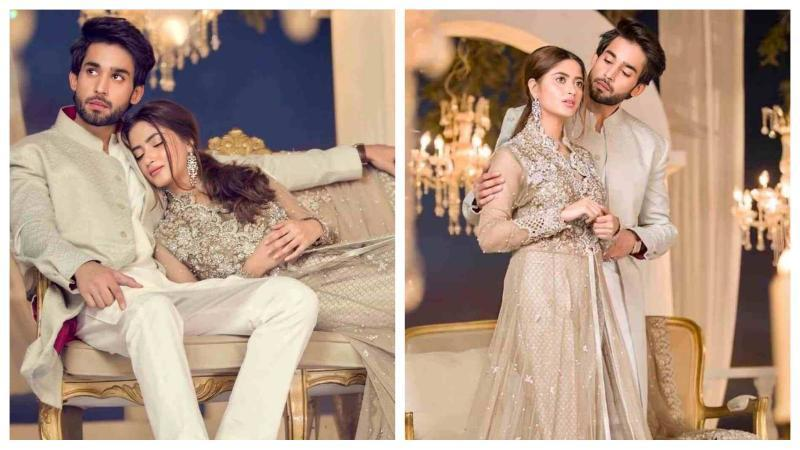 Sajal-Ali-And-Bilal-Abbas-Khan-Romantic-Pictures