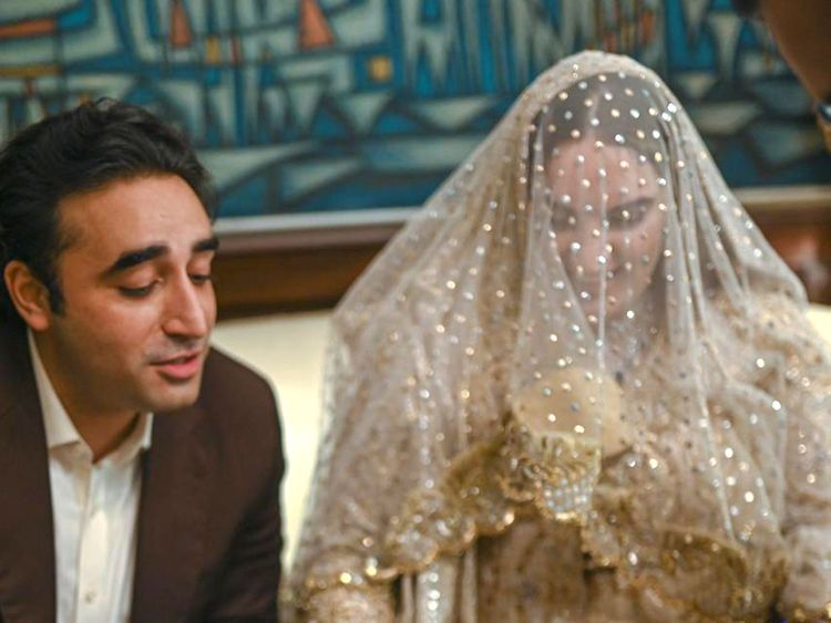 Bakhtawar Bhutto Wedding Pictures