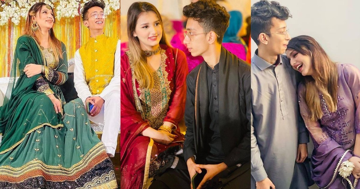 Asad-And-Nimra-Enjoying-At-A-Wedding-Event
