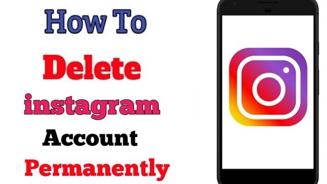 Delete-instagram-account