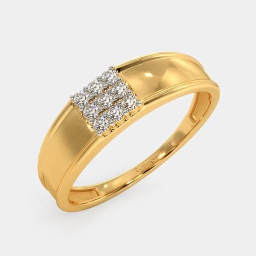 single stone ring design for gents