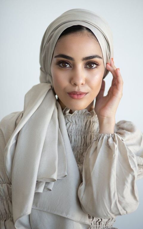 simple hijab styles for beginners
