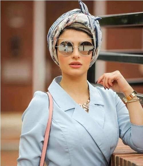 simple hijab styles for college