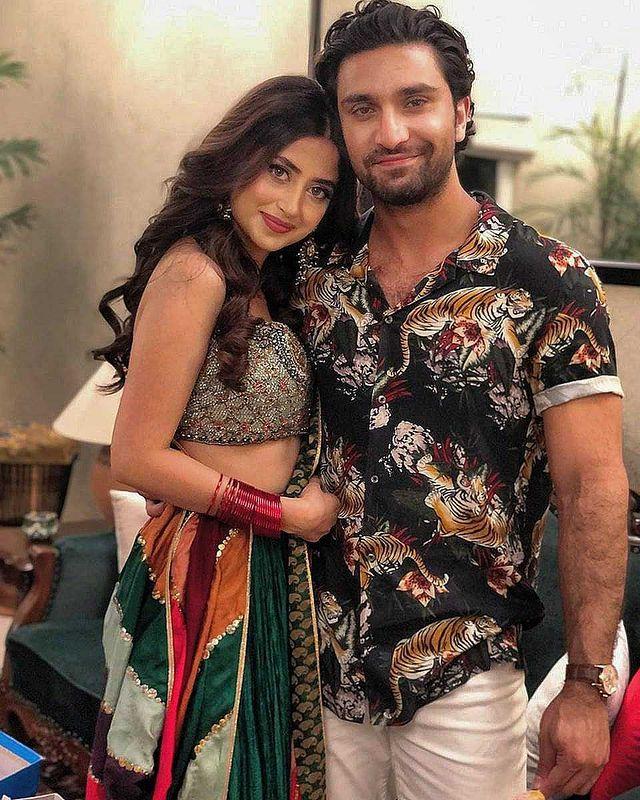 Ahad Raza Mir Wife